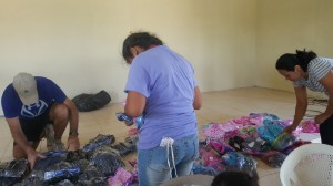 Sorting of shoes